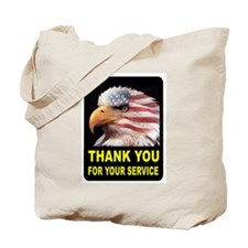 MILITARY THANKS Tote Bag