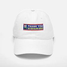 MILITARY THANKS Baseball Baseball Baseball Cap