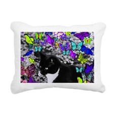 Freckles Butterfly II Rectangular Canvas Pillow