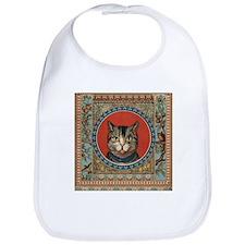 Cat World Vintage Kitty Bib