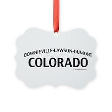 Downieville-Lawson-Dumont Colorado Ornament