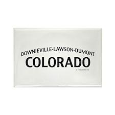 Downieville-Lawson-Dumont Colorado Rectangle Magne