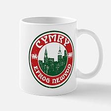Cymry Efrog Newydd New York Welsh Mug
