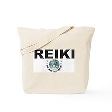 Reiki Planetary Healing Tote Bag