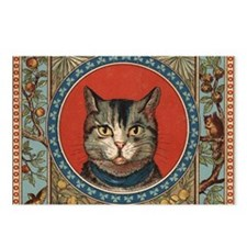 Cat World Vintage Kitty Postcards (Package of 8)