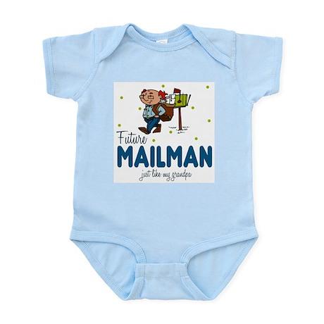 Future Mailman like Grandpa Baby Body Suit