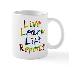 Live Learn Lift Mug