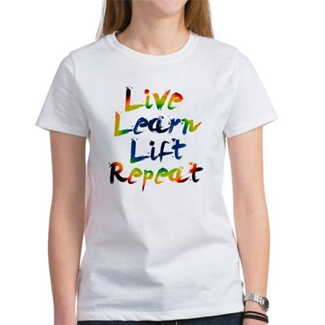 Live Learn Lift T-Shirt