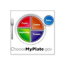 Choose My Plate Sticker