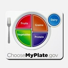 Choose My Plate Mousepad