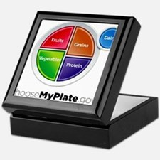 Choose My Plate Keepsake Box