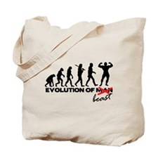 Evolution Of Beast Tote Bag