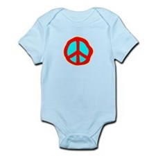 Dazed Peace Sign Body Suit