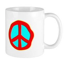 Dazed Peace Sign Mug
