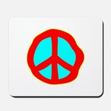 Dazed Peace Sign Mousepad