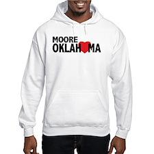 Moore Oklahoma Heart Hoodie