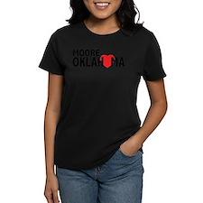 Moore Oklahoma Heart T-Shirt