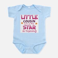 Little Cousin - Star (Pink) Body Suit