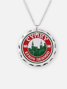 Cymry Efrog Newydd New York Welsh Necklace