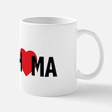 Moore Oklahoma Heart Mug