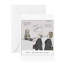 Cute Spend Greeting Card