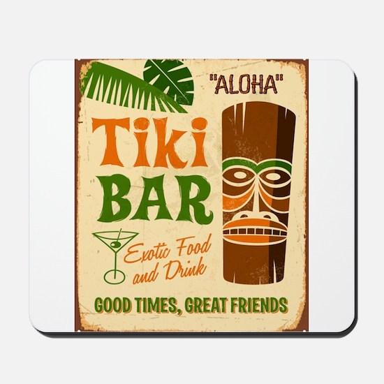Tiki Bar Mousepad