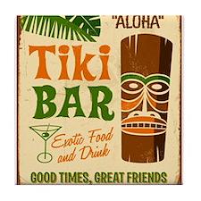Tiki Bar Tile Coaster