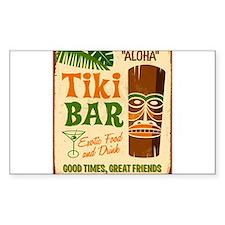 Tiki Bar Decal