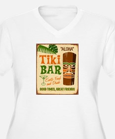 Tiki Bar Plus Size T-Shirt