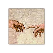 Michelangelo Creation of Adam Sticker