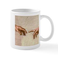 Michelangelo Creation of Adam Mug