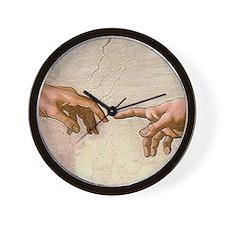 Michelangelo Creation of Adam Wall Clock