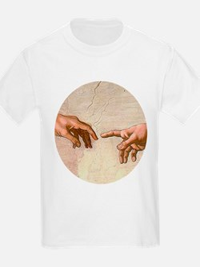 Michelangelo Creation of Adam T-Shirt