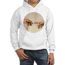 Michelangelo Creation of Adam Hoodie