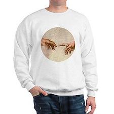 Michelangelo Creation of Adam Sweatshirt