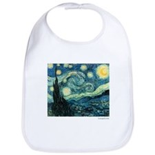 Starry Night Vincent Van Gogh Bib