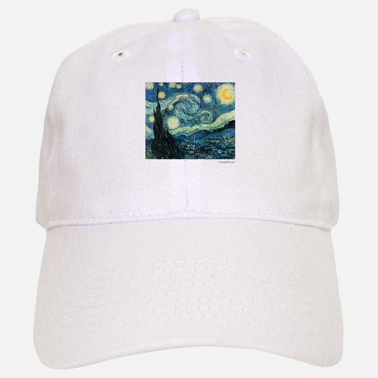 Starry Night Vincent Van Gogh Baseball Baseball Cap