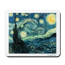 Starry Night Vincent Van Gogh Mousepad