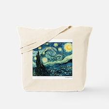 Starry Night Vincent Van Gogh Tote Bag