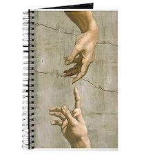 Michelangelo Creation of Adam Journal