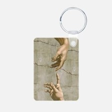 Michelangelo Creation of Adam Keychains