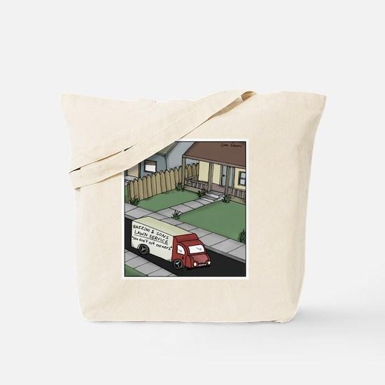 Cute Lawn mowers Tote Bag