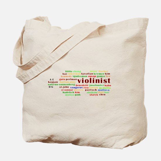 Contemporary Violinists Tote Bag