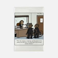 Funny Office humor Rectangle Magnet