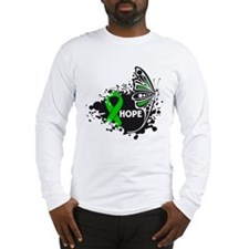 Spinal Cord Injury Butterfly Long Sleeve T-Shirt
