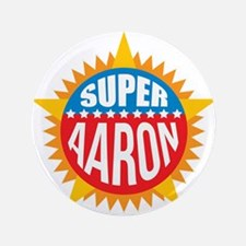 """Super Aaron 3.5"""" Button (100 pack)"""