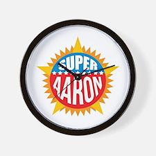 Super Aaron Wall Clock