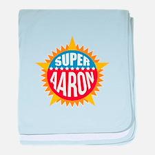 Super Aaron baby blanket