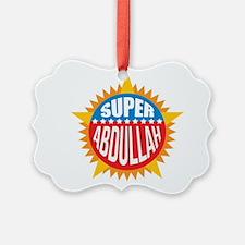 Super Abdullah Ornament