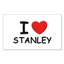 I love Stanley Rectangle Decal